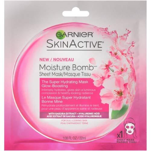 Garnier - Moisture Bomb The Super Hydrating Glow Boosting Sheet Mask