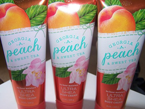 Bath & Body Works - Ultra Shea Body Cream, Georgia Peach & Sweet Tea