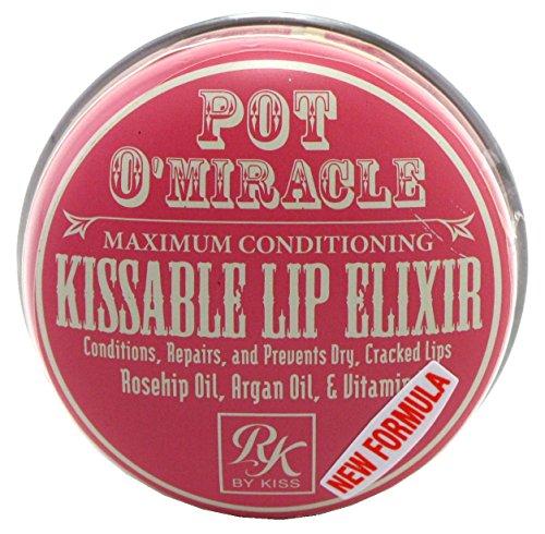 Kiss Kiss Pot O'Miracle Kissable Lip Elixir 0.33oz (6 Pieces)