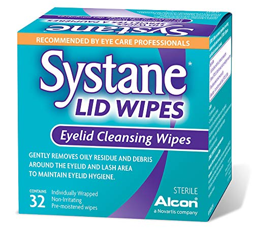 Systane - Systane Lid Wipes - Eyelid Cleansing Wipes - Sterile, Count of 32