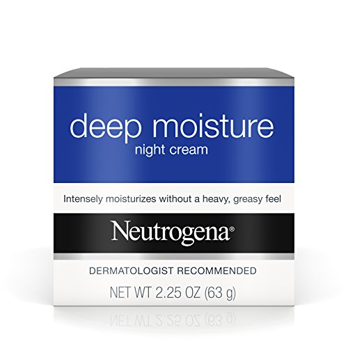 Neutrogena - Neutrogena Deep Moisture Night Cream with Glycerin & Vitamin D3, Intensive Hydrating Facial Moisturizer for Instant Dry Skin Relief, Non-Greasy & Non-Comedogenic, 2.25 oz