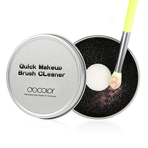 Docolor - Docolor Color Removal Sponge - Dry Makeup Brush Quick Cleaner Sponge - Compact Size for Travel