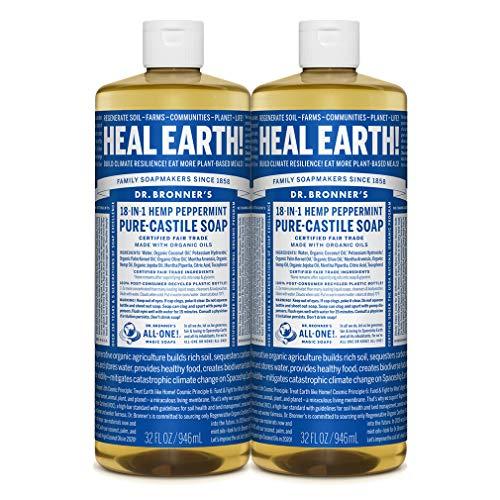 Dr. Bronner'S - Pure-Castile Liquid Soap - Peppermint