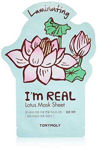 Tonymoly - TONYMOLY I'm Real Lotus Luminating Tee Mask