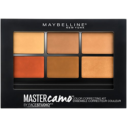 Maybelline New York - Facestudio Master Camo Color Correcting Kit, Deep