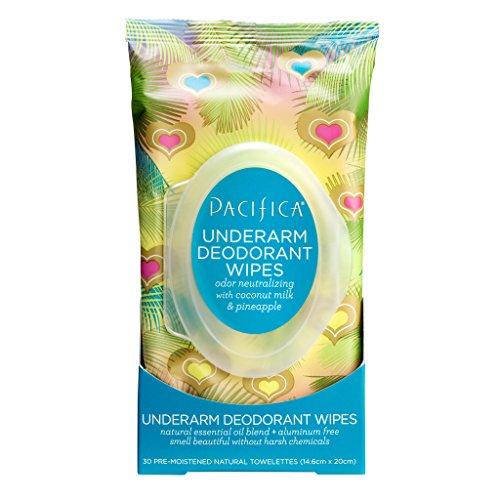 Pacifica - Pacifica Beauty Underarm Deodorant Wipes