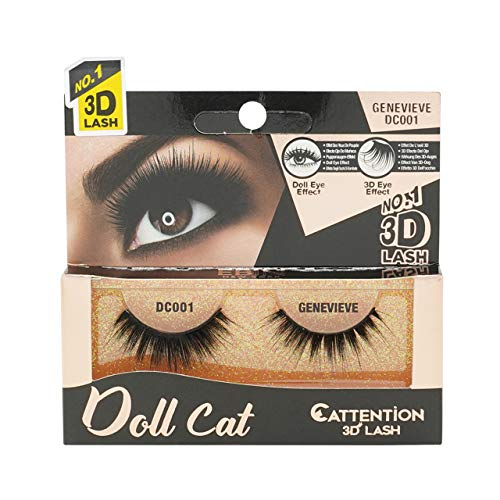 Ebin New York - CATTITUDE 3D LASHES Doll Cat