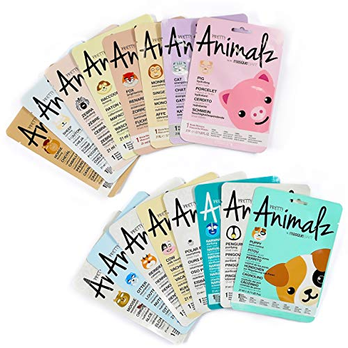 Masque Bar - Masque Bar Pretty Animalz Sheet Mask Zoo Bundle - 18 Pack