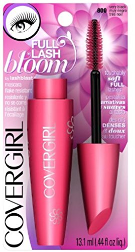 Covergirl - COVERGIRL LashBlast Full Lash Bloom Mascara, Very Black 800, 0.44 Ounce (Packaging May Vary) Volumizing Mascara with Beeswax, Petal-Shaped Brush