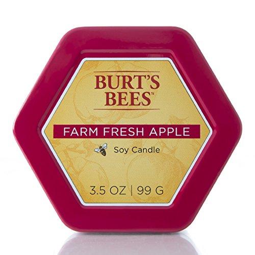 Burts Bees - Farm Fresh Apple Candle Tin