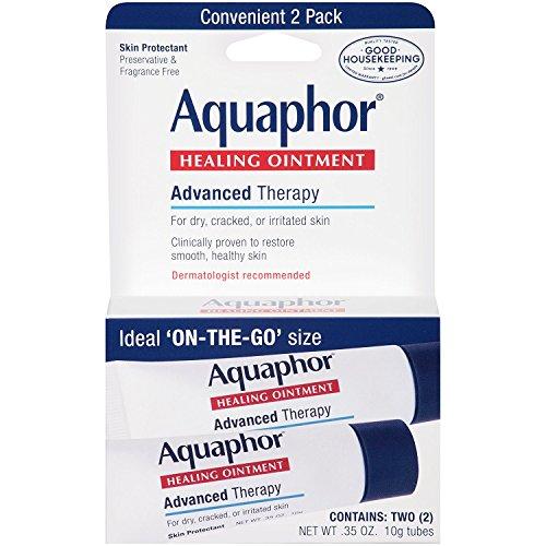 Aquaphor - Aquaphor Healing Ointment 2 Count 0.35 Ounce (10ml) (6 Pack)