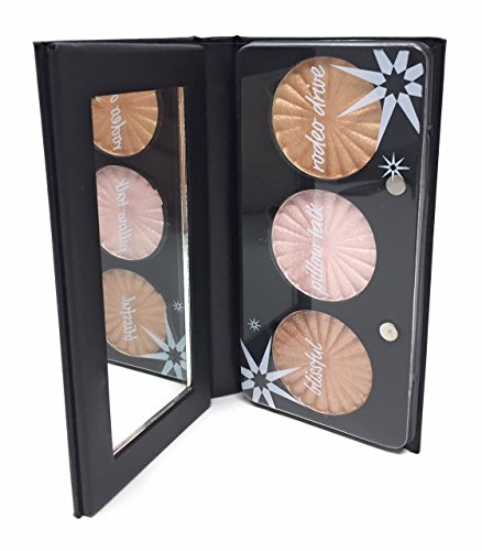 Ofra - Ofra Feelin' Myself Highlighter Palette - Blissful, Pillow Talk and Rodeo Drive