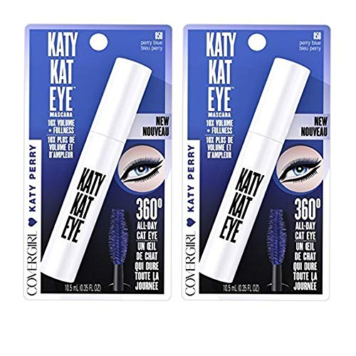Covergirl - CoverGirl Katy Kat Katy Perry Eye Mascara, 850 Perry Blue (Pack of 2)
