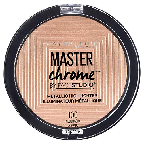 Maybelline - Master Chrome Metallic Highlighter, Molten Gold