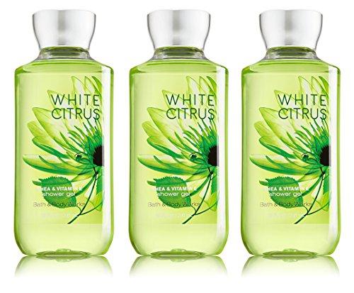 Bath & Body Works - Lot of 3 Bath & Body Works White Citrus 8.0 oz Shower Gel