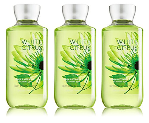 Bath & Body Works - Lot of 3 Bath & Body Works White Citrus 8.0 oz Shower Gel