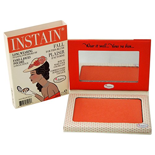 The Balm - Instain Long-Wearing Powder Staining Blush, Swiss Dot