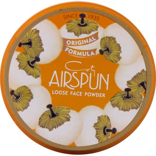 Coty airspun - Coty Airspun Loose Powder, Translucent Extra Coverage, 070-41, 2.3 Ounce (6 Pack)