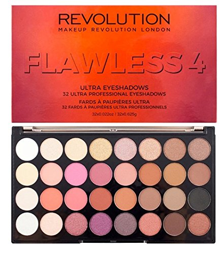 Makeup Revolution - Makeup Revolution Flawless 4 Ultra 32 Eyeshadow Palette