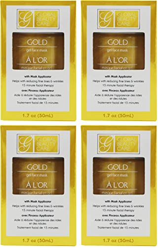 Global Beauty Care - Gold Mask Gel with Applicators