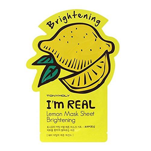 Tonymoly - TONYMOLY I'm Real Lemon Brightening Mask Sheet, Pack of 1