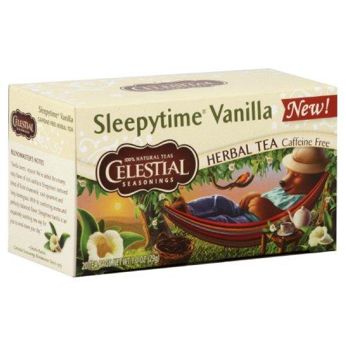 Celestial Seasonings - Celestial Seasonings - Sleepytime Herbal Tea Caffeine Free Vanilla - 20 Tea Bags