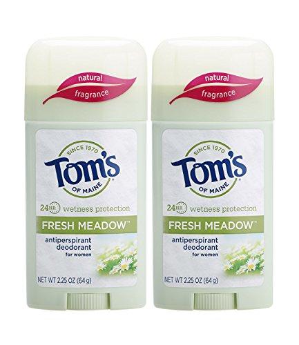 Tom's of Maine - Tom's of Maine Women's Antiperspirant Deodorant Stick, Fresh Meadow, 2 Count