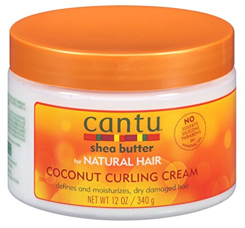 Cantu - Cantu Natural Hair Coconut Curling Cream 12 Ounce Jar (2 Pack)