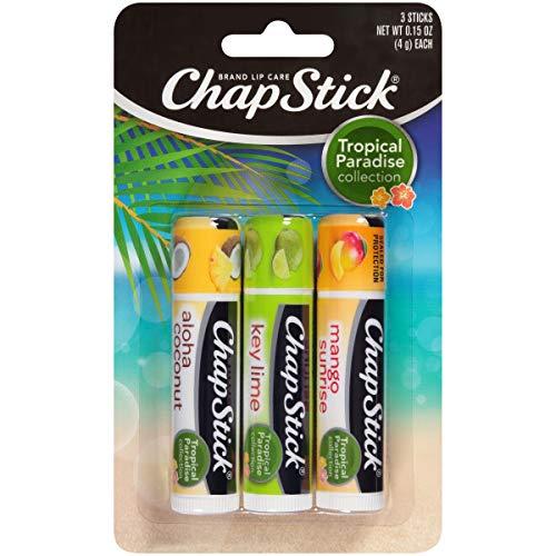 Chapstick - Chapstick Tropical Paradise Collection Lip Care, 0.15 Ounce, 3 ct