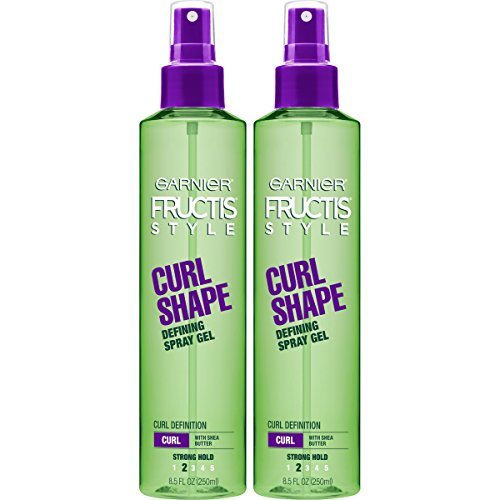 Garnier - Garnier Fructis Style Curl Shape Defining Spray Gel, Curly, 8.5 oz. (Packaging May Vary), 2 Count