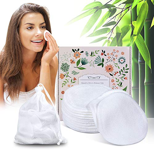Topoint - Reusable Makeup Remover Pads with Laundry Bag