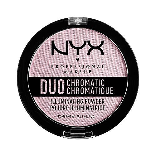 NYX - Duo Chromatic Illuminating Powder, Lavender Steel