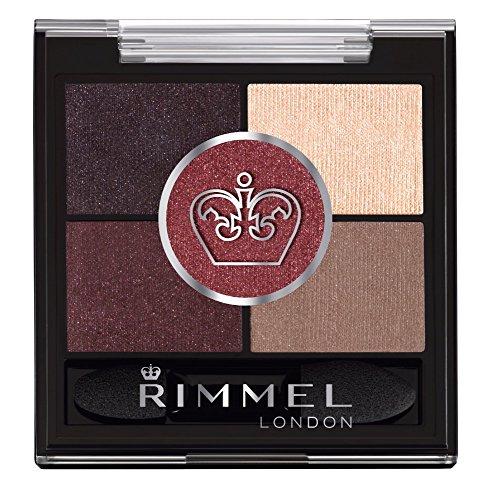Rimmel - Rimmel London Glam'eyes HD 5 Pan Shadow, Brixton Brown, 0.19 Ounce