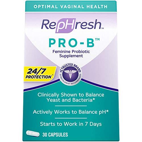 Rephresh - RepHresh Pro-B Probiotic Feminine Supplement, 30 Count