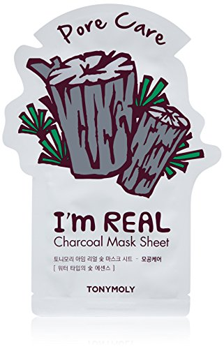 Tonymoly - I'm Real Charcoal Pore Care Mask Sheet