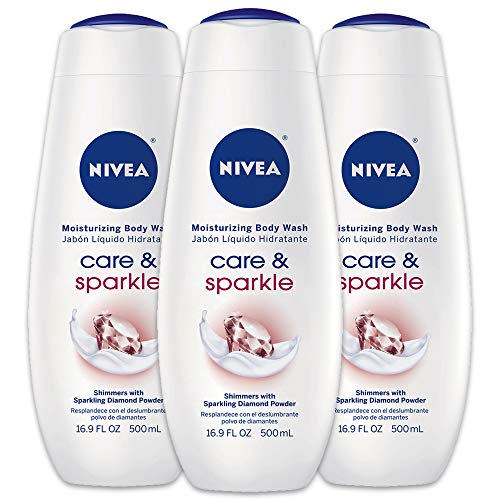 Nivea - NIVEA Care & Illuminate Moisturizing Body Wash, Shimmers With Sparkling Diamond Powder 16.9 oz ( Pack of 2 )