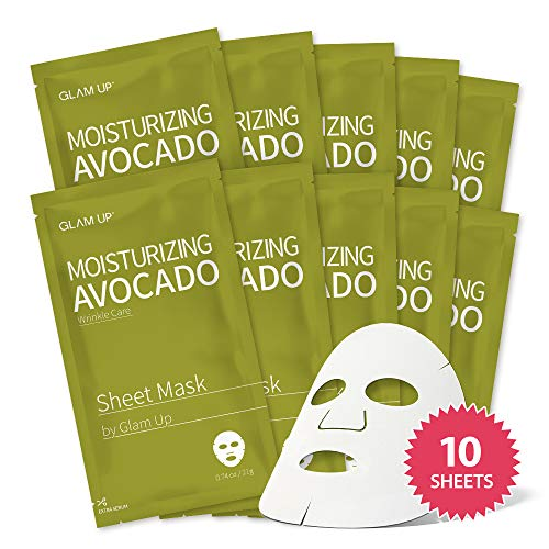 Glam Up Sheet Mask by Glam Up 12 recipes (10 Sheets)