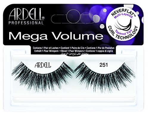 Ardell - Ardell Mega Volume #251 Black Lashes (2 Pack)