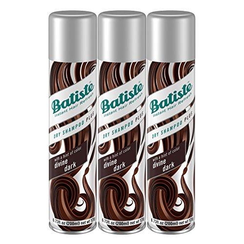 Batiste - Batiste Dry Shampoo, Dark & Deep Brown 6.73 oz (Pack of 3)