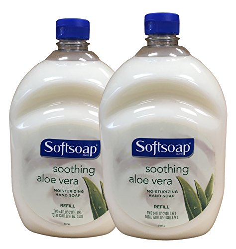 Softsoap - Softsoap Hand Soap Soothing Aloe Vera Moisturizing Hand Soap Refill 64 Fl Oz Bottle (Pack of 2)