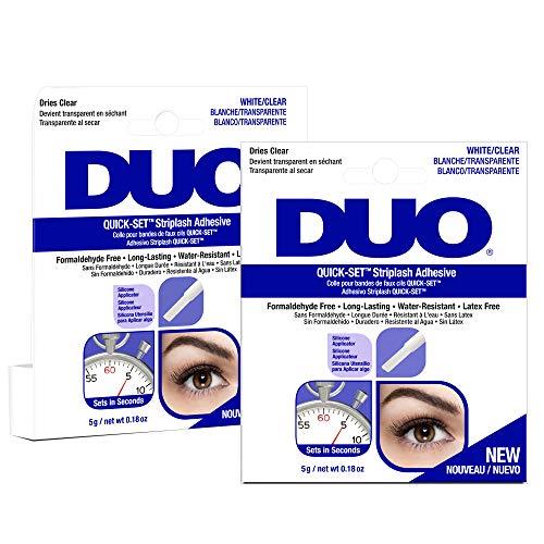 DUO - Quick-Set Clear False Strip Lash Adhesive