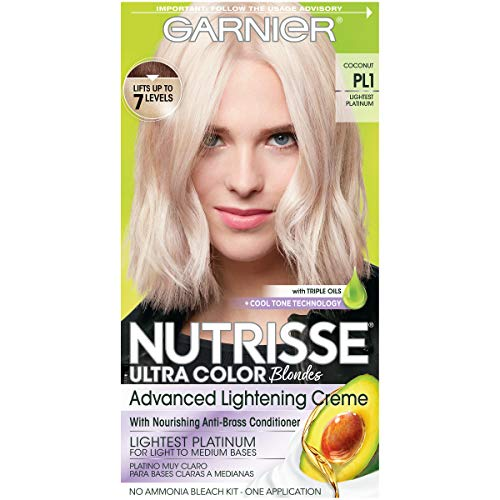 Garnier - Garnier Nutrisse Ultra Color Advance Lightening Creme, PL1 Lightest Platinum (Pack of 2)