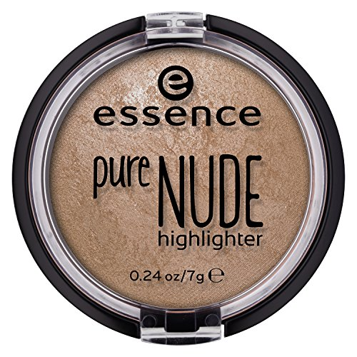 Essence Cosmetics - essence | Pure NUDE Highlighter, 10 Be My Highlight | Natural and Subtle Glow | Vegan & Cruelty Free | - Beige