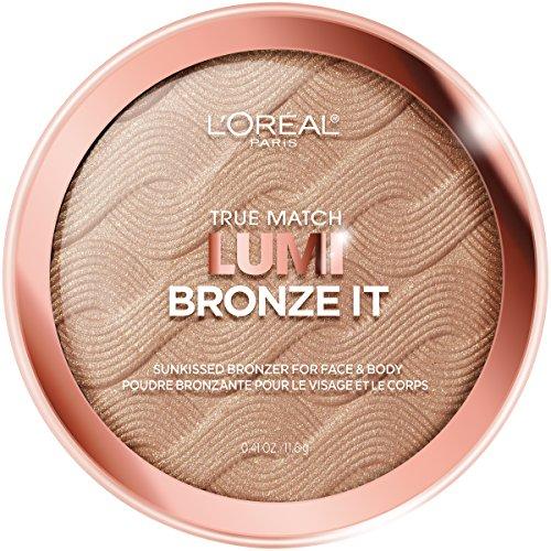 L'Oreal Paris - L'Oreal Paris Cosmetics True Match Lumi Bronze It Bronzer For Face And Body, Light, 0.41 Fluid Ounce