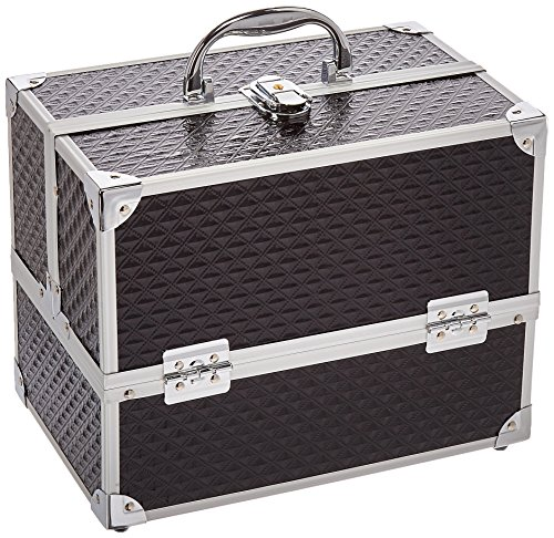 Caboodles - Caboodles Love Struck Six Tray Makeup Train Case, 3.91 Pound