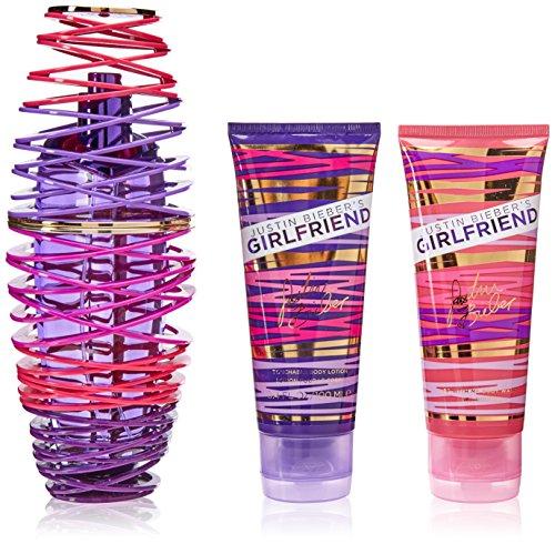 Justin Bieber - Justin Bieber Girlfriend 3 Piece Gift Set for Women