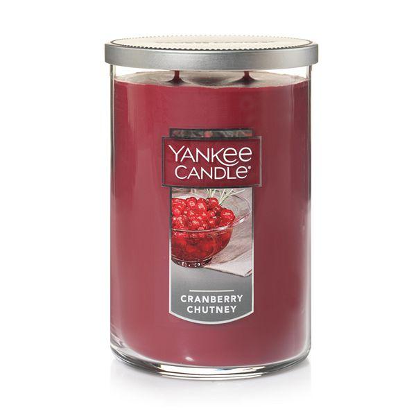 Yankee Candle - Yankee Candle Cranberry Chutney 19-oz. Large Jar Candle