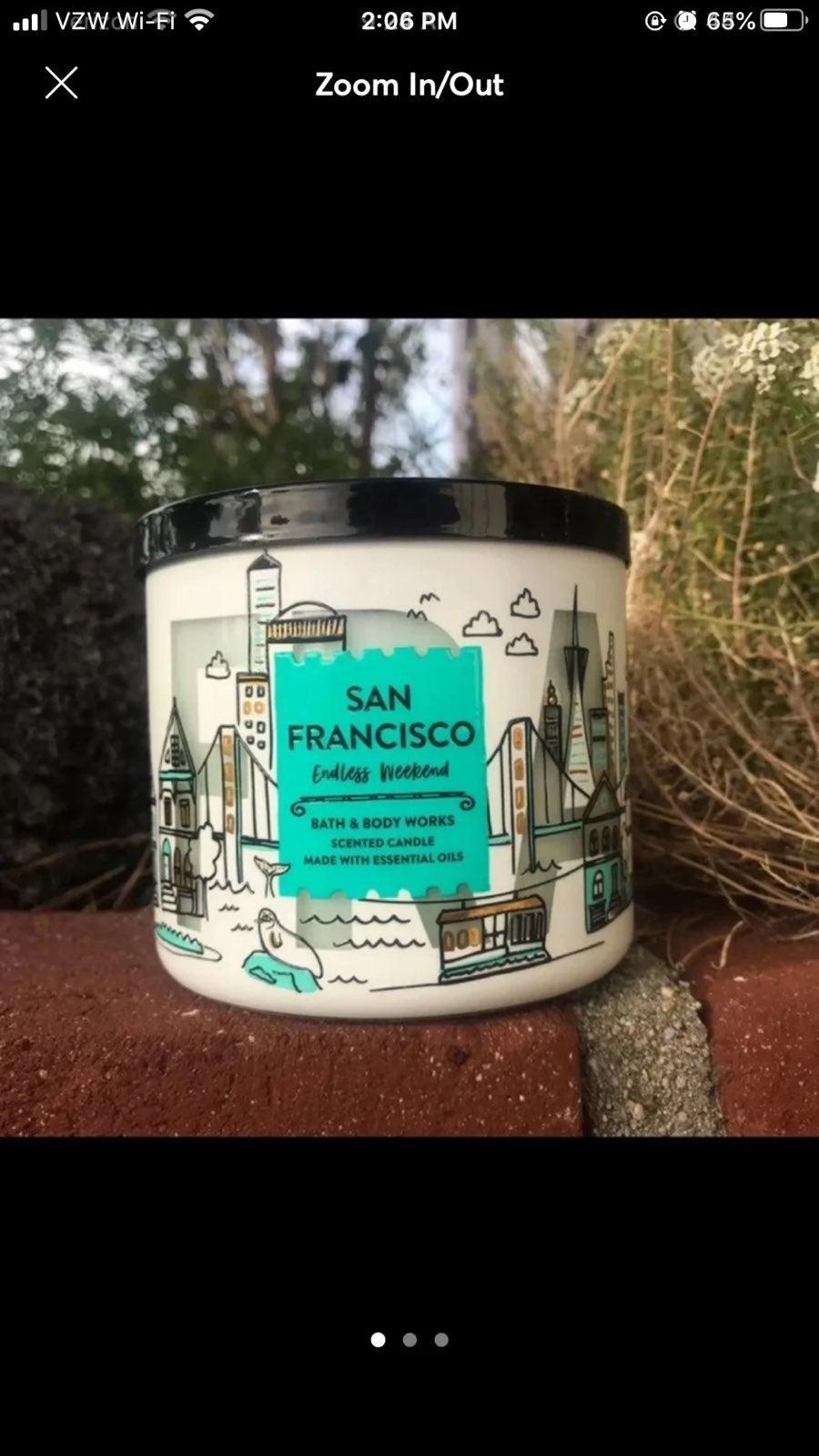 mercari.com - San francisco candle bath body works