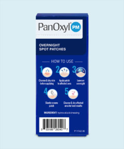 PanOxyl - PanOxyl ® PM Overnight Spot Patches