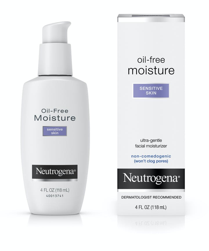 Neutrogena Neutrogena® Oil-Free Face Moisturizer for Sensitive Skin, Fragrance-Free, Non-Comedogenic